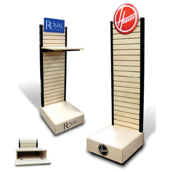 Vacuum cleaner display stand