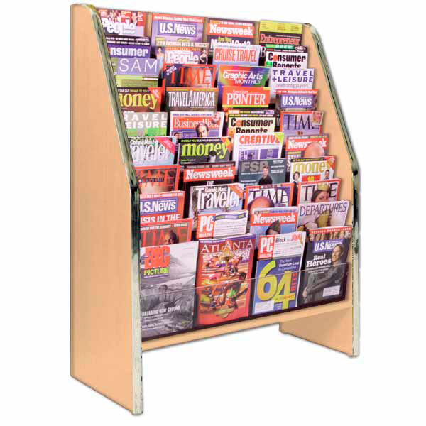 Magazine Wooden Display Stand