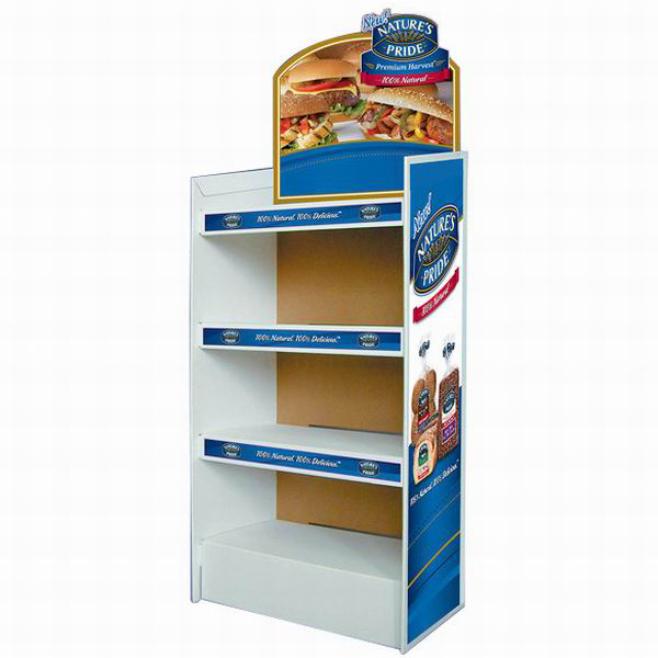 Point of sale cardboard displays of china with screen