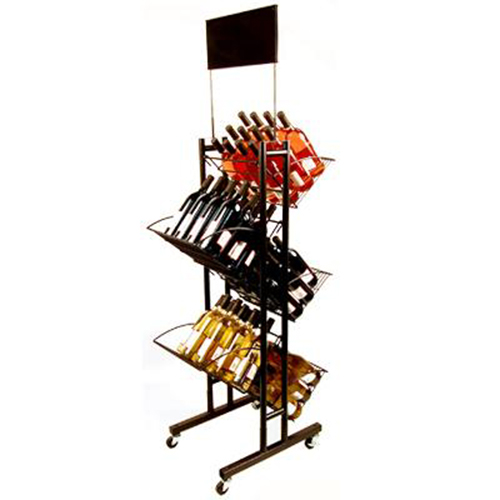 Wine metal display stands