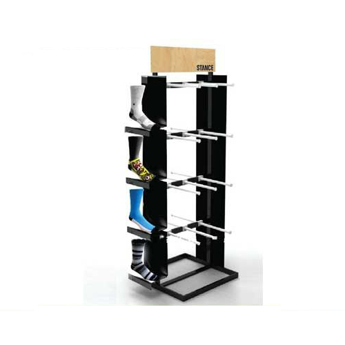 Shoes metal display racks