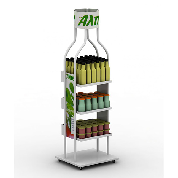 Low Cost Lube/Oil Display Stands With Hooks