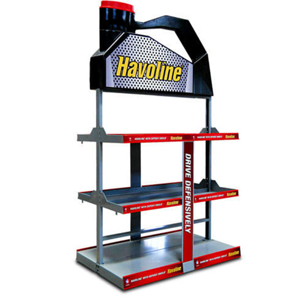 Supplier Lube/Oil Display Racks 3 Tier
