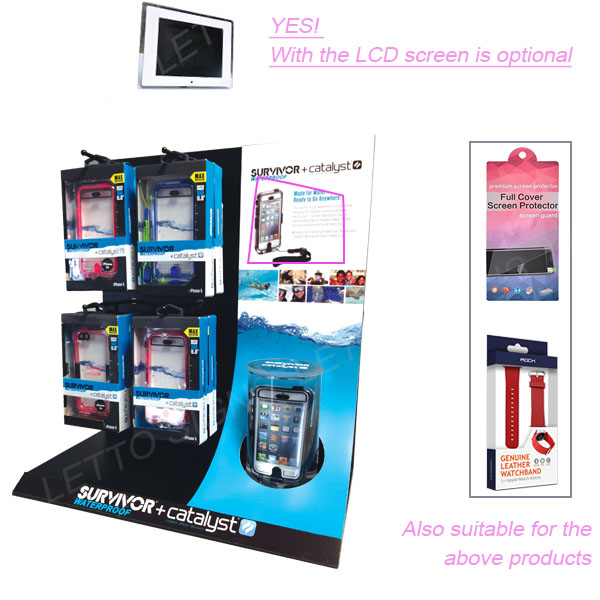 Cheap Price Acrylic Stand With Display lcd For Screen Glasses