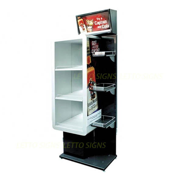 Multi Tiers Stackable Storage Display Stand