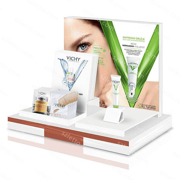 Wholesale Retail Cosmetic Shop Skin Care Displays Stand